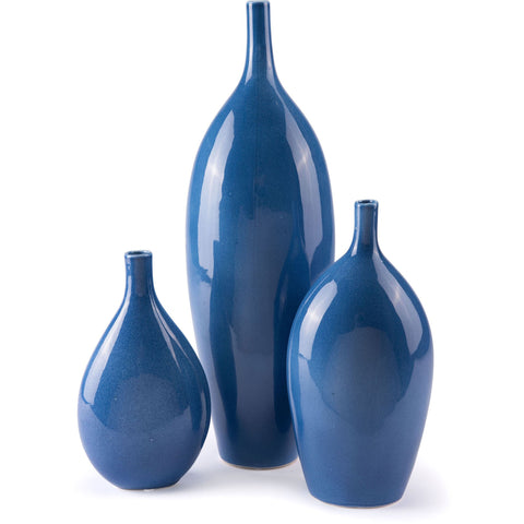 Blue Cobalt Vase, Large