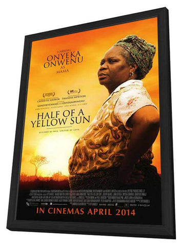 Half a Yellow Sun 11x17 Framed Movie Poster (2014)