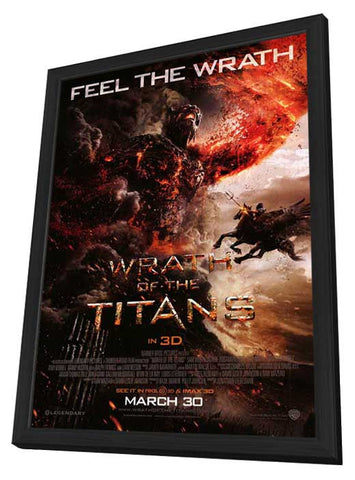 Wrath of the Titans 27x40 Framed Movie Poster (2012)
