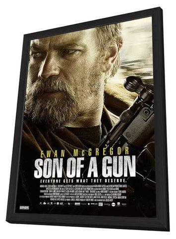 Son of a Gun (Canadian) 11x17 Framed Movie Poster (2015)