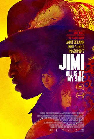 Jimi: All is By My Side 11x17 Movie Poster (2014)