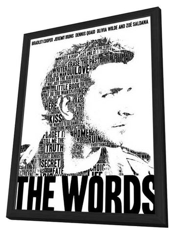 The Words 27x40 Framed Movie Poster (2012)