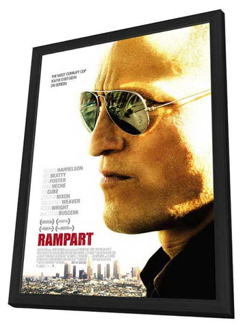 Rampart 11x17 Framed Movie Poster (2011)