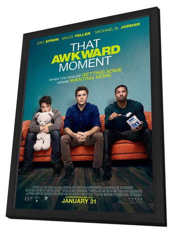 That Awkard Moment (Canadian) 27x40 Framed Movie Poster (2014)