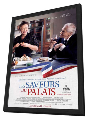 Haute Cuisine (Canadian) 27x40 Framed Movie Poster (2013)