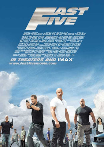 Fast Five (UK) 11x17 Movie Poster (2011)