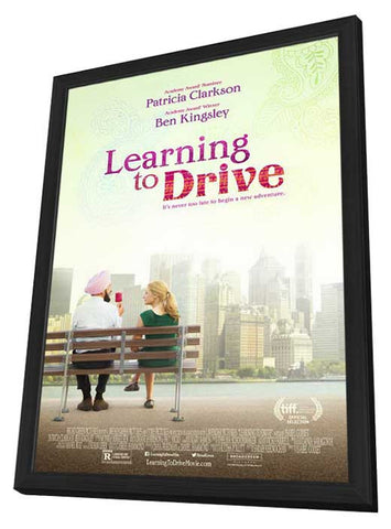Learning to Drive 27x40 Framed Movie Poster (2014)