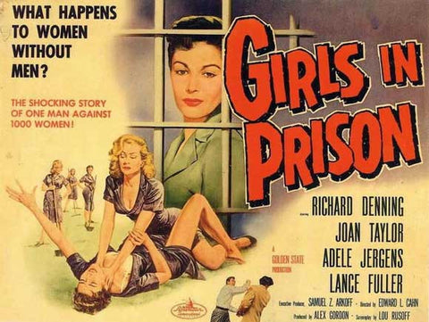 Girls in Prison 11x17 Movie Poster (1956)