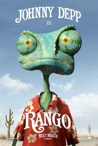 Rango 27x40 Movie Poster (2011)