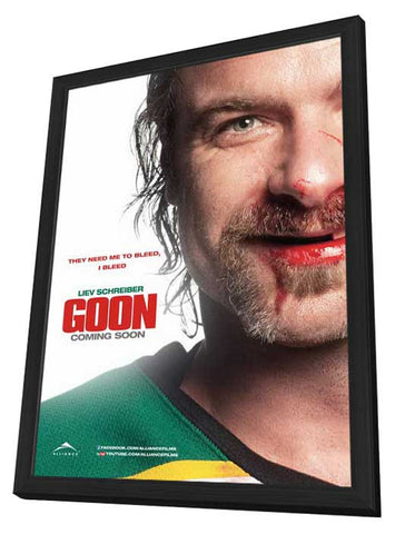 Goon (Canadian) 11x17 Framed Movie Poster (2012)