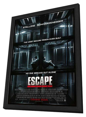 Escape Plan 27x40 Framed Movie Poster (2013)
