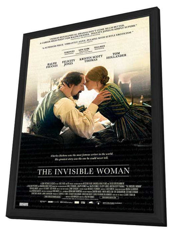 The Invisible Woman (Canadian) 27x40 Framed Movie Poster (2013)