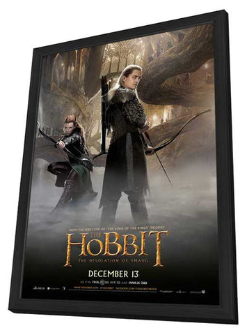 The Hobbit: The Desolation of Smaug 11x17 Framed Movie Poster (2013)