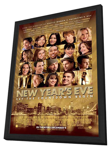 New Year's Eve 11x17 Framed Movie Poster (2011)