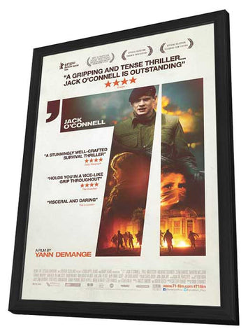 71 (Canadian) 11x17 Framed Movie Poster (2014)