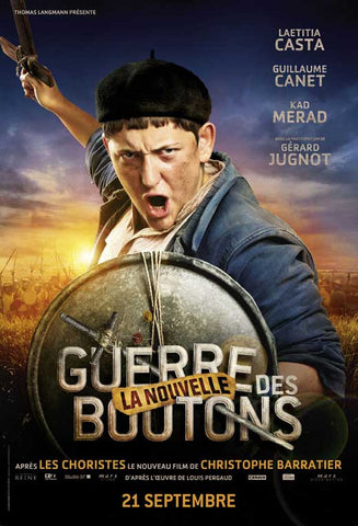 War of the Buttons (French) 11x17 Movie Poster (2012)