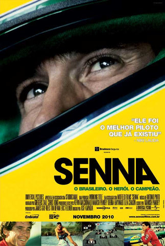 Senna (Brazilian) 11x17 Movie Poster (2010)