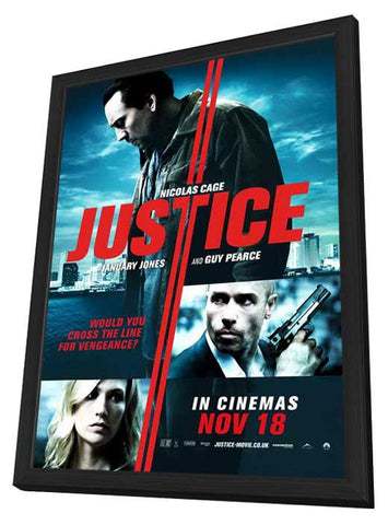 Seeking Justice 11x17 Framed Movie Poster (2011)