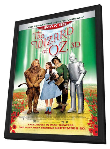 Wizard of Oz IMAX 3D 11x17 Framed Movie Poster (2013)