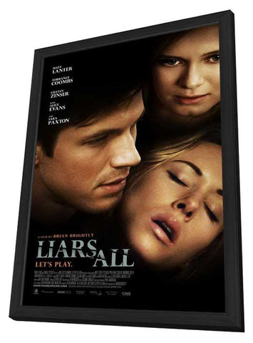 Liars All 27x40 Framed Movie Poster (2013)