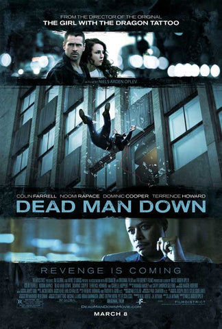 Dead Man Down 27x40 Movie Poster (2013)