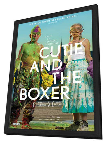 Cutie and the Boxer (Canadian) 11x17 Framed Movie Poster (2013)
