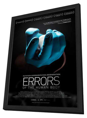 Errors of the Human Body 27x40 Framed Movie Poster (2013)