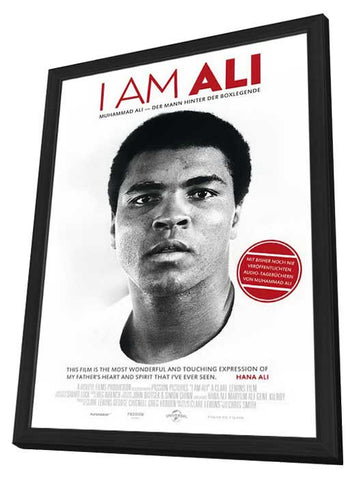I am Ali (German) 11x17 Framed Movie Poster (2014)