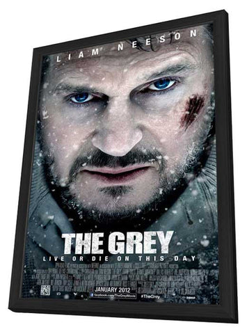 The Grey 27x40 Framed Movie Poster (2011)