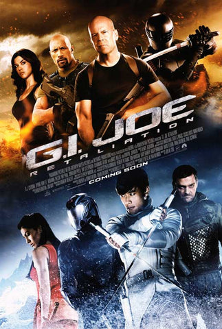 G.I. Joe: Retaliation 27x40 Movie Poster (2012)