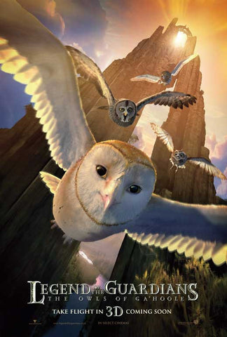 Legend of the Guardians: The Owls of Ga'Hoole 11x17 Movie Poster (2010)