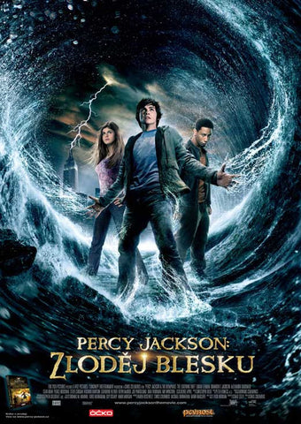 Percy Jackson & the Olympians: The Lightning Thief (Czechoslovakian) 27x40 Movie Poster (2010)