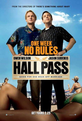 Hall Pass 11x17 Movie Poster (2011)