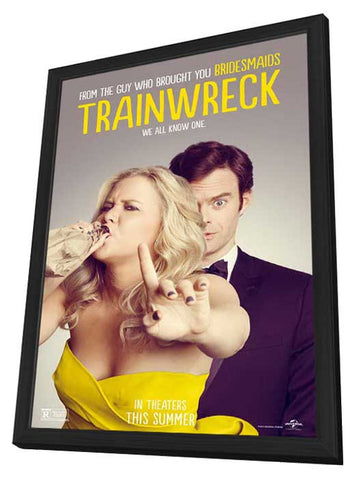 Trainwreck 27x40 Framed Movie Poster (2015)