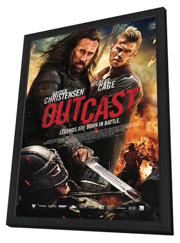 Outcast (Canadian) 11x17 Framed Movie Poster (2015)