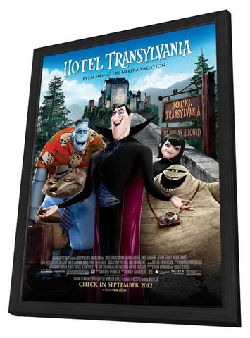 Hotel Transylvania 27x40 Framed Movie Poster (2012)