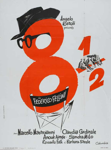 8.5 (French) 27x40 Movie Poster (1963)