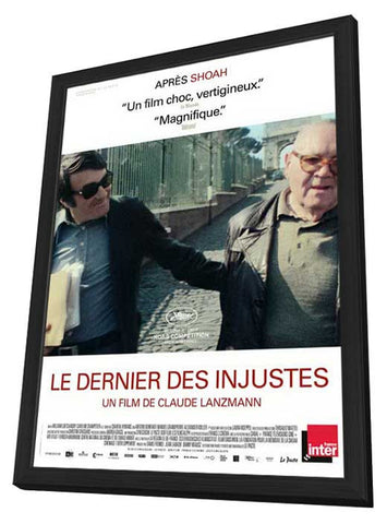 The Last of the Unjust (French) 11x17 Framed Movie Poster (2014)