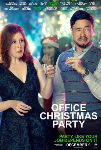Office Christmas Party (2016) 27x40 Movie Poster