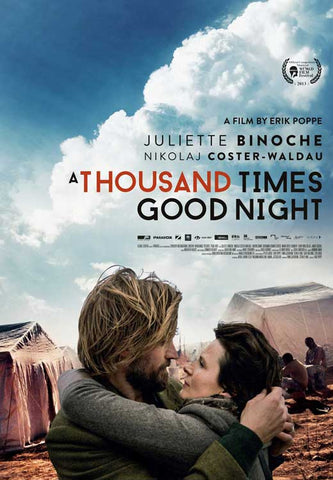 1,000 Times Goodnight (UK) 27x40 Movie Poster (2014)