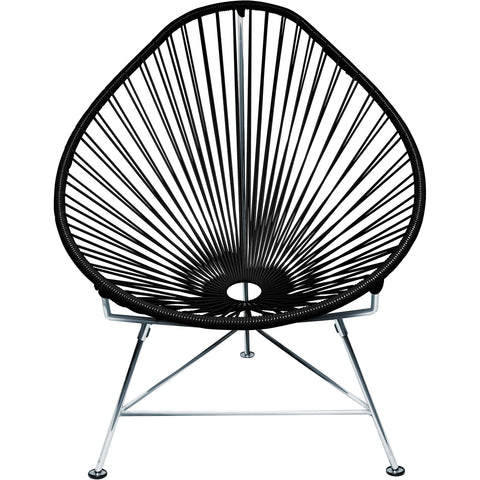 Acapulco Vinyl Cord Chair, Chrome Frame