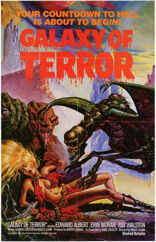 Galaxy of Terror 11x17 Movie Poster (1981)