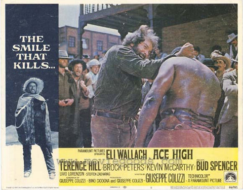 Ace High 11x14 Movie Poster (1969)