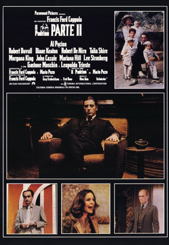 Godfather, Part 2 11x17 Movie Poster (1974)