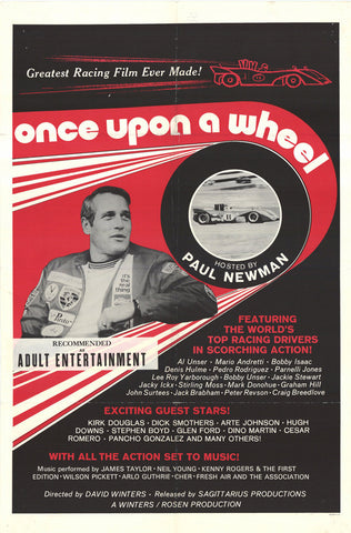 Once Upon a Wheel 11x17 Movie Poster (1971)