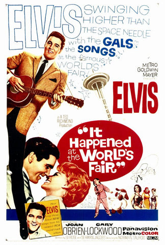 It Happened at the World's Fair 27x40 Movie Poster (1963)