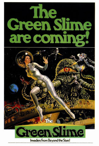 Green Slime 27x40 Movie Poster (1969)