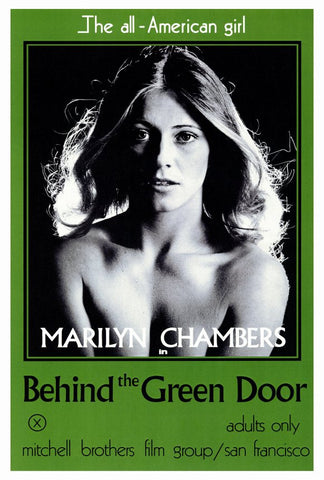 Behind the Green Door 27x40 Movie Poster (1972)