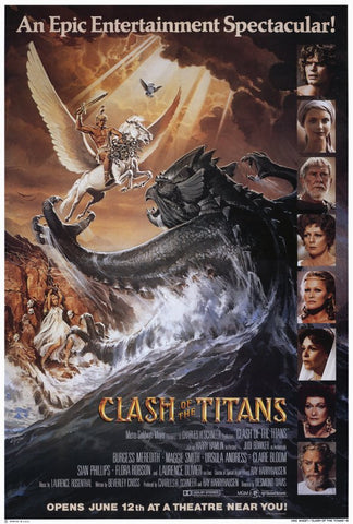 Clash of the Titans 27x40 Movie Poster (1981)