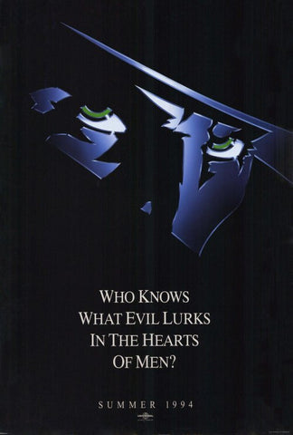 The Shadow 27x40 Movie Poster (1994)
